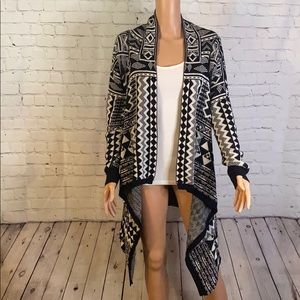 Mossimo tribal print sweater!size XL
